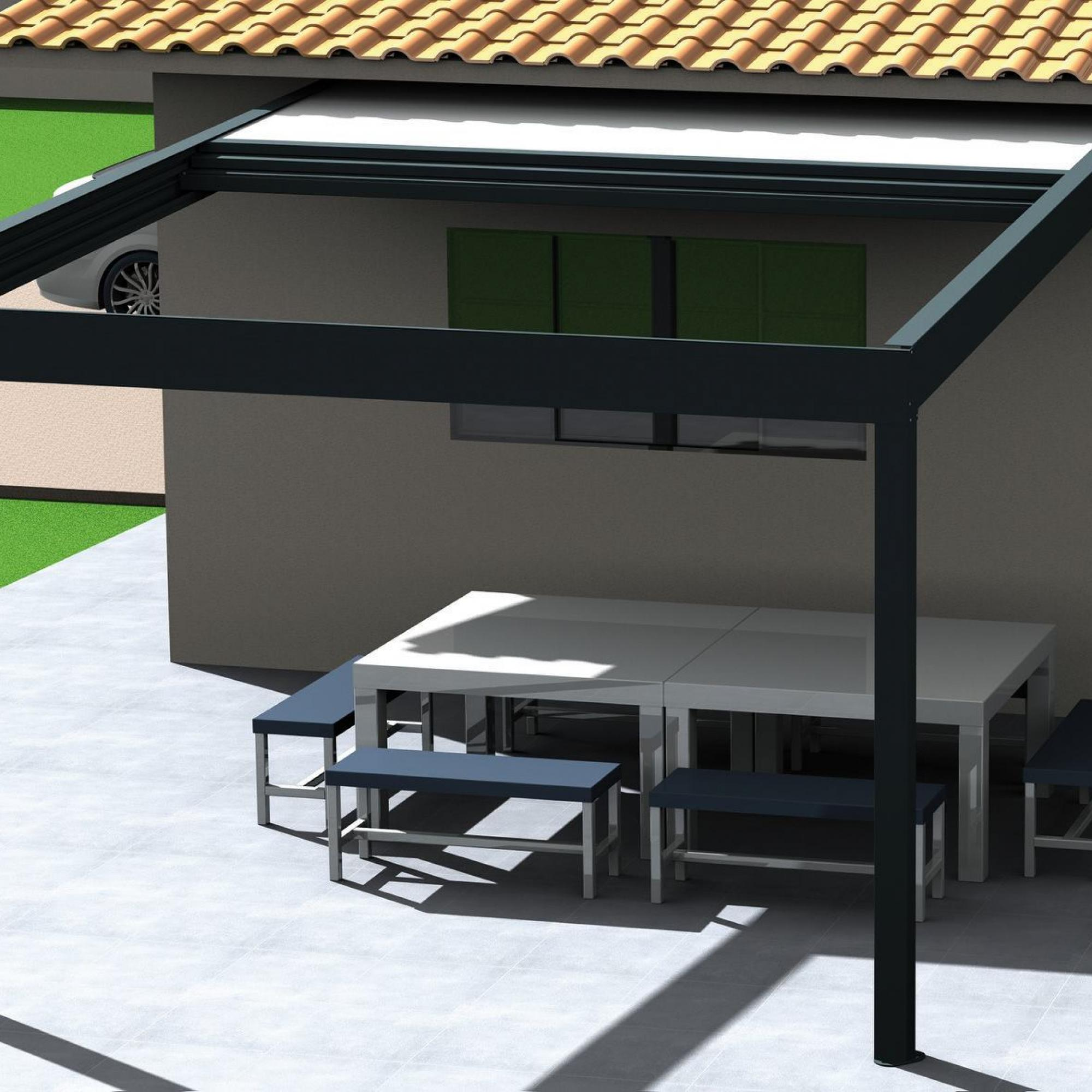 PÉRGOLA POLY-TOP
